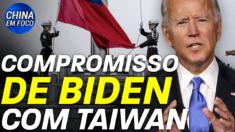 Ex-oficiais dos EUA vão Taiwan; Um relatório da inteligência americana listou o regime comunista chinês como a maior ameaça aos EUA.