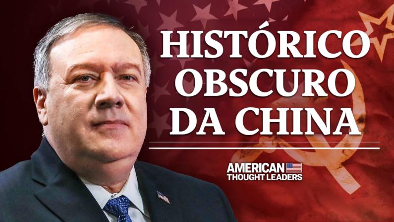 """Exclusivo: Secretário Mike Pompeo: o Partido Comunista Chinês está """"dentro dos portões""""   American Thought Leaders"""