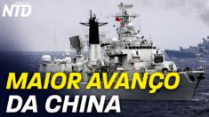 Mais de 280 navios chineses em águas Filipinas; Passeatas protestando a morte misteriosa de um estudante chinês