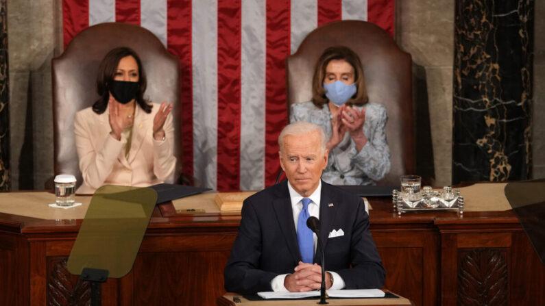 Biden provoca ira dos republicanos e rejeição dos democratas pela onda de gastos de US$ 6 trilhões