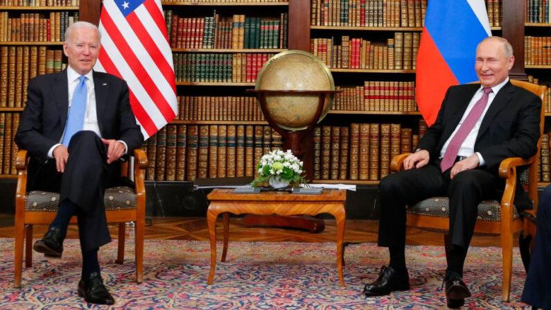 Primeira reunião entre Putin e Biden dura quase duas horas, segundo o Kremlin