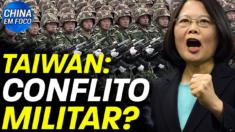 O Ministro das Relações Exteriores de Taiwan fala da possibilidade de um conflito militar em Taiwan