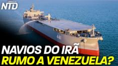 O Pentágono e as agências de inteligência dos Estados Unidos, estão monitorando dois navios do Irã que teriam partido em direção à Venezuela