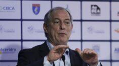 Ciro Gomes critica crescimento da economia