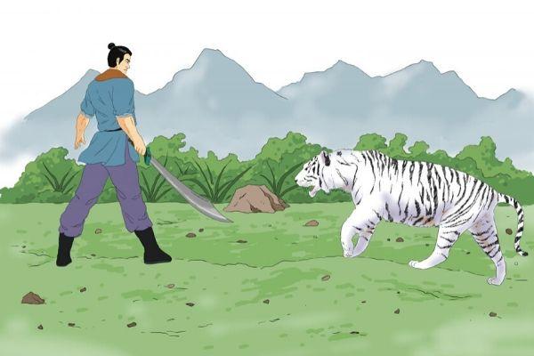 A História de Sun Simiao (Parte 3): curando um dragão e um tigre com suas habilidades e compaixão