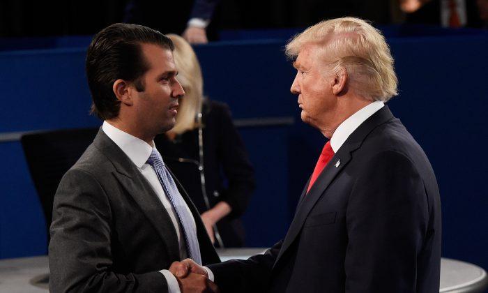 Donald Trump Jr. responde à especulação de que o ex-presidente Trump irá concorrer ao Congresso