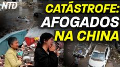 Enchentes mortíferas na China