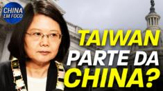 EUA: mapas mostrando Taiwan como parte da China barrados