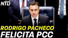 Rodrigo Pacheco, presidente do congresso felicita secretário-geral do PCC, Xi Jinping