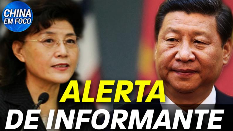 Uma ex-integrante dos altos círculos do Partido Comunista Chinês publicou um artigo apontando que o PCC pode ser mais frágil do que se imagina.