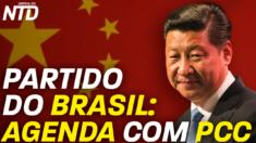 Neste mês Carlos Lupi participou de uma cúpula com o líder do Partido Comunista Chinês.