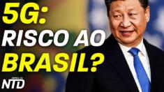 """5G: BRASIL NO """"FOGO CRUZADO"""" ENTRE CHINA E EUA"""
