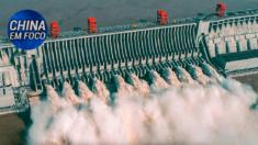 Barragem das Três Gargantas na China atinge maior nível de água em 23 anos