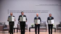 Regime venezuelano e oposição assinam acordos após segunda rodada de negociações