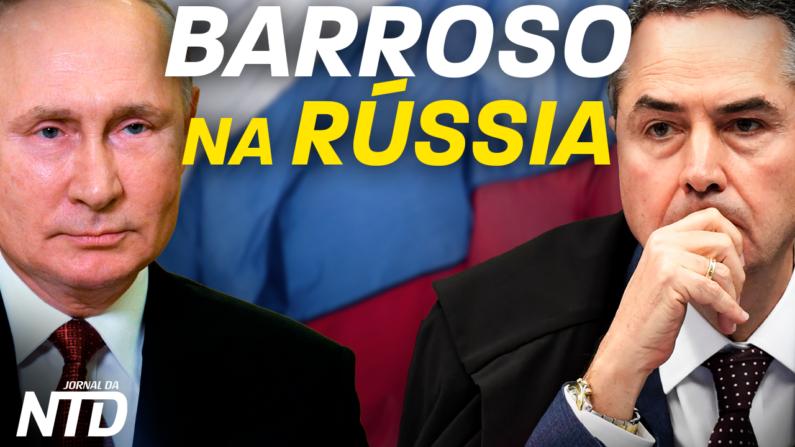 Luís Roberto Barroso atua como observador das eleições russas