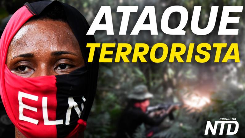 Atentado: 5 mortos, 6 feridos na Colômbia