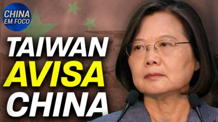 Taiwan: não nos curvaremos à China