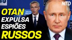 OTAN expulsa espiões russos