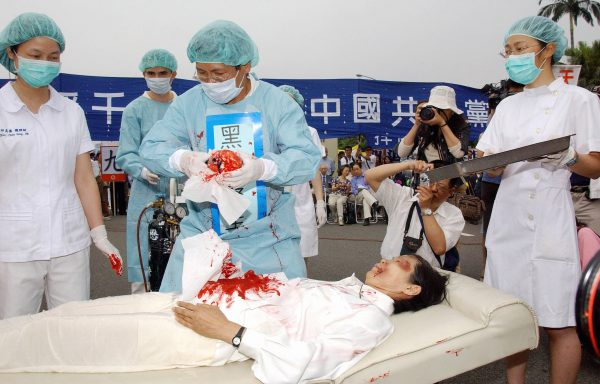 killing of Falun Gong followers and harvesting of their organs