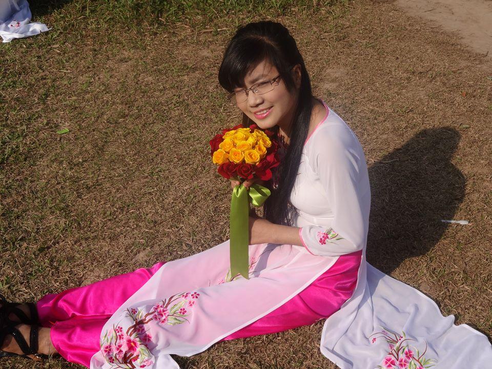 Voltei a ser a garota entusiasta, extrovertida e enérgica que eu costumava ser (Nguyen-Thu-Trang)