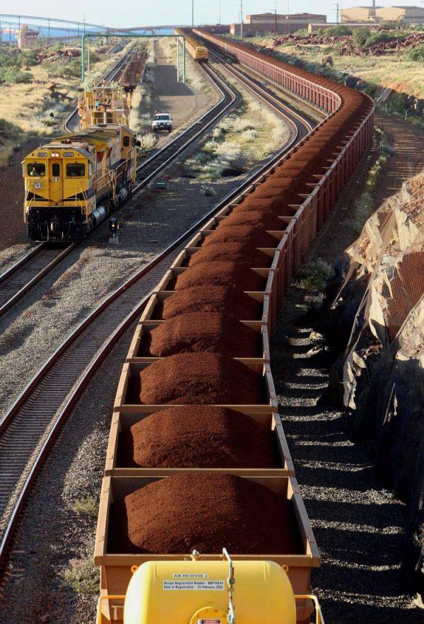 A Chinalco teria ganho até 50 por cento da valiosa mina de minério de ferro de Pilbara, se seu negócio com a Rio Tinto tivesse sido levado adiante (Greg Wood / AFP / Getty Images)
