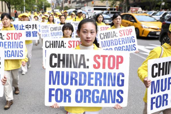 Desfile do Falun Dafa em Manhattan, Nova Iorque, em 16 de maio de 2019 (Samira Bouaou / The Epoch Times)